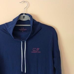 Vineyard Vines funnel neck top